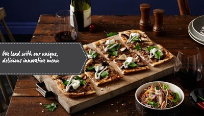 Crust Gourmet Pizza undefined