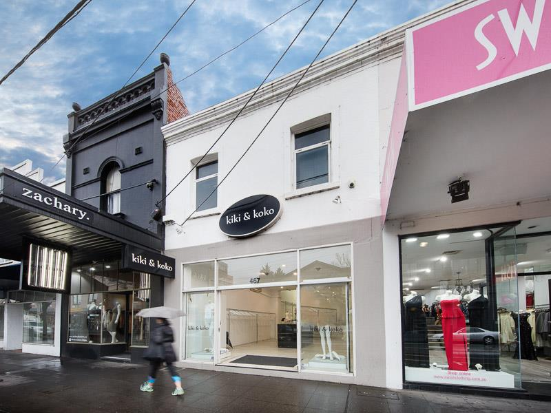 Ground & First Floor/467 Chapel Street SOUTH YARRA VIC 3141