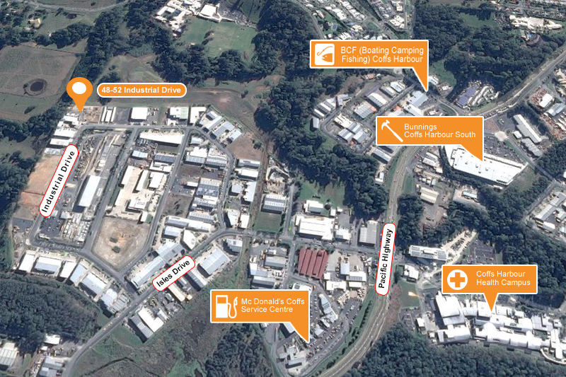 48-52 Industrial Drive, North Boambee Valley NSW 2450