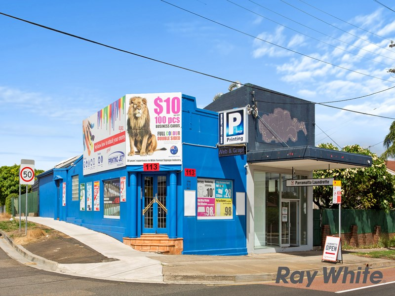 113 Victoria Road, PARRAMATTA NSW 2150 - Retail Property For Lease ...