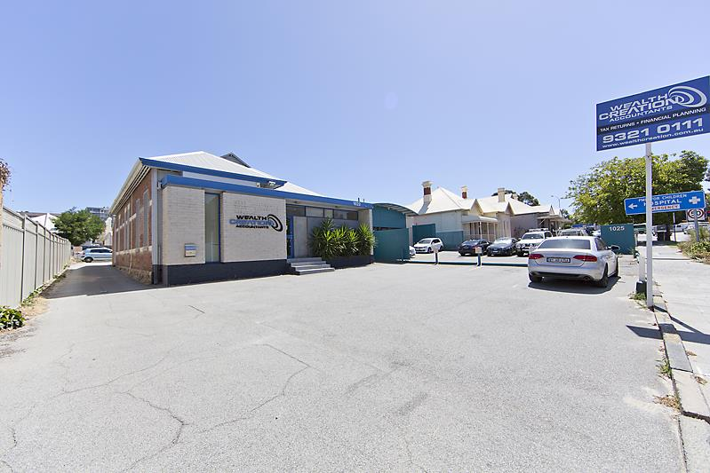 DEVELOP, LAND HOLD OR OCCUPY/1023 Wellington Street WEST PERTH WA 6005