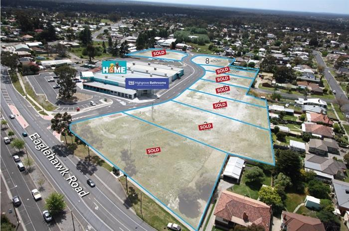 Lot 8/320 Eaglehawk Road CALIFORNIA GULLY VIC 3556