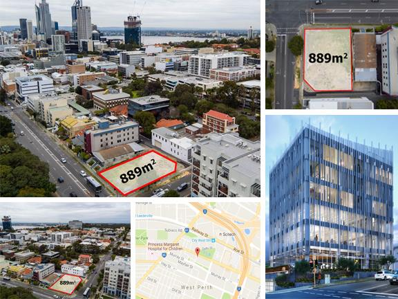 CORNER SITE WITH DEVELOPMENT A/959 Wellington Street WEST PERTH WA 6005