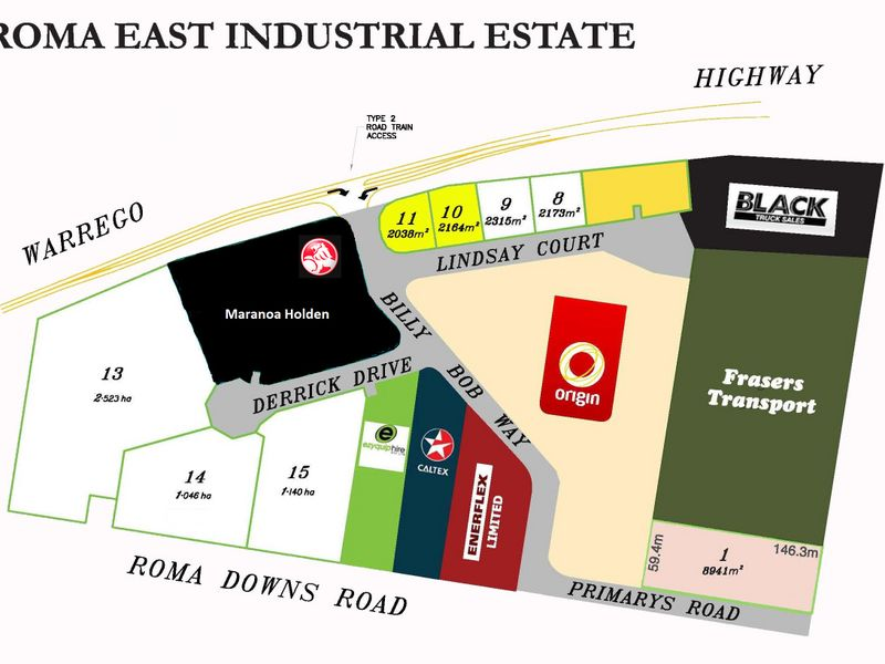 Roma East Industrial Estate/4 Lindsay Court ROMA QLD 4455
