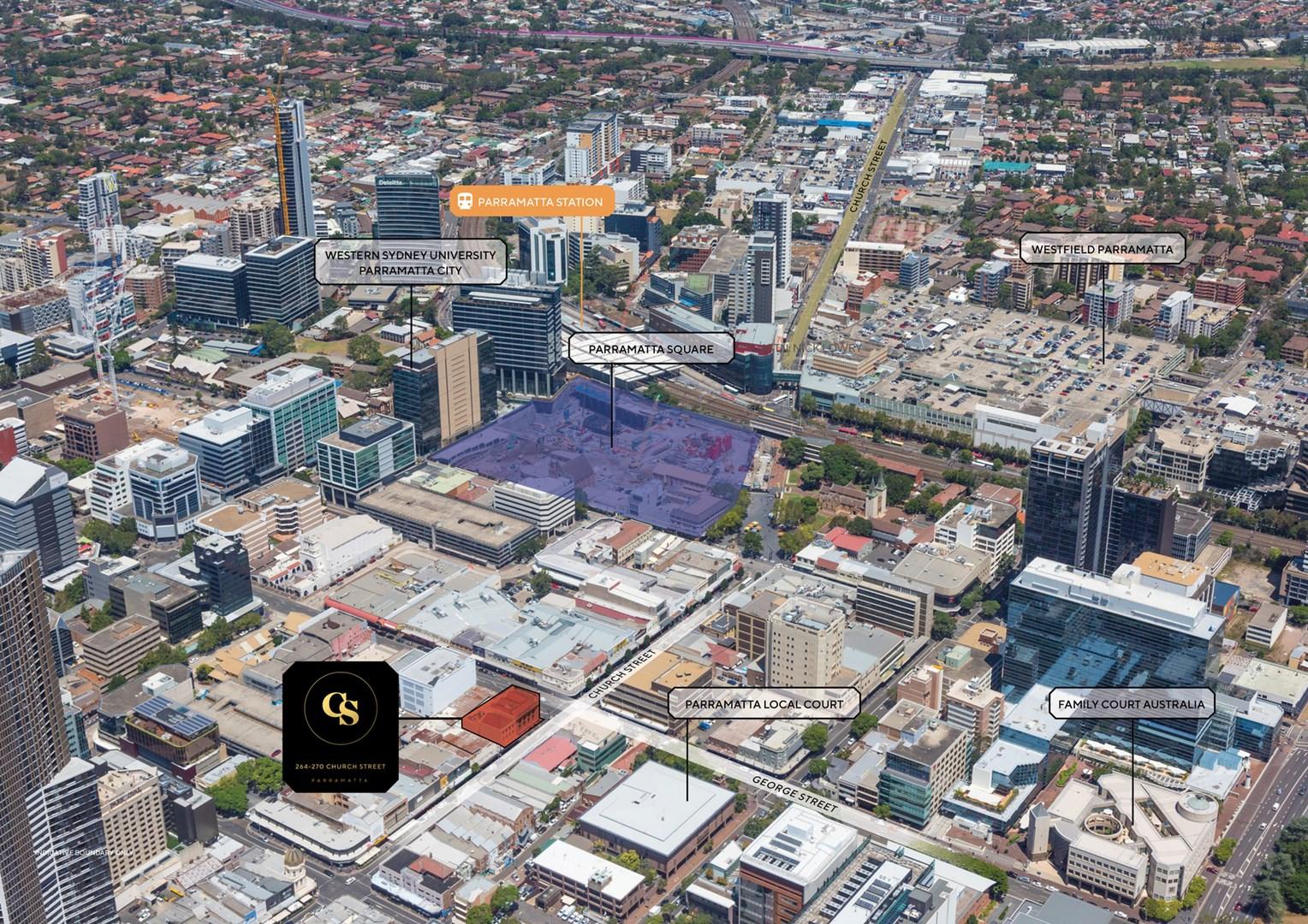 Property Report for 264 Church Street, Parramatta NSW 2150
