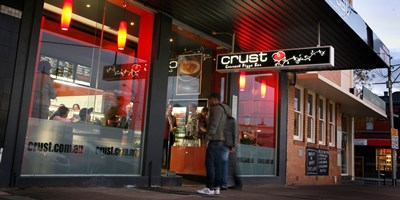 Crust Gourmet Pizza Launceston TAS 7250