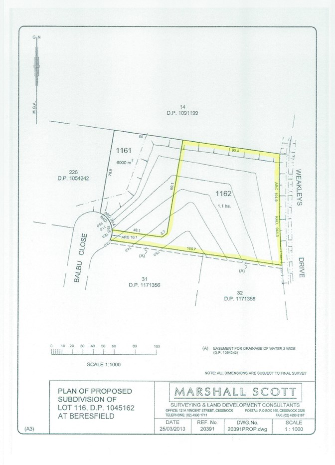 Lot 1162 Balbu Close BERESFIELD NSW 2322