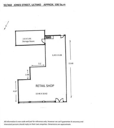 Shop 92, 460 Jones Street ULTIMO NSW 2007