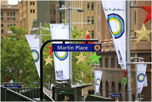 Martin Place Railway Station SYDNEY NSW 2000
