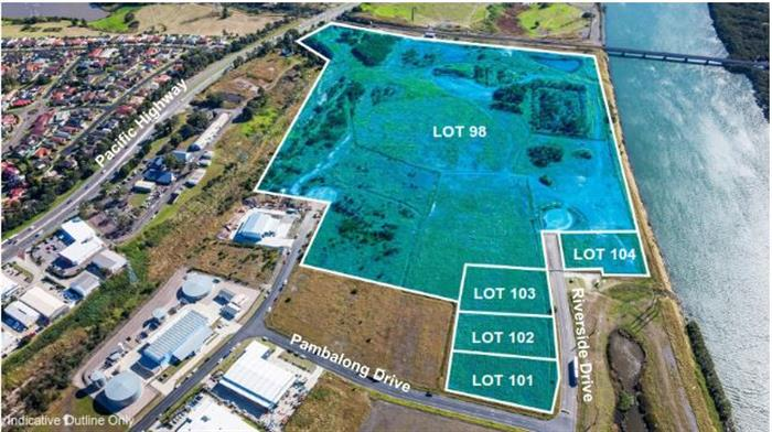 Lot 98 & Proposed Lots 101, 102, 103 & 104 Riverside Drive MAYFIELD WEST NSW 2304