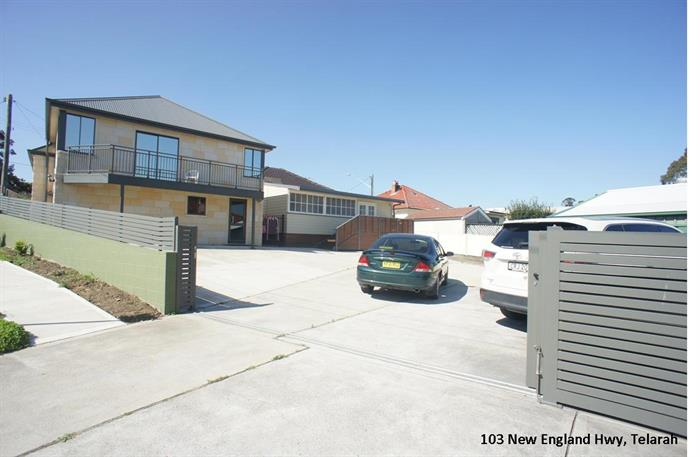 101-103 New England Highway & 33 Johnson Street MAITLAND NSW 2320