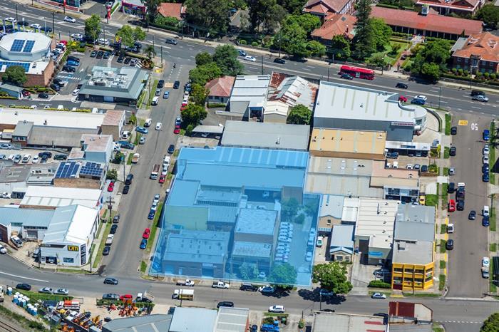 8-12 & 5-9 Leonard & James Street HORNSBY NSW 2077