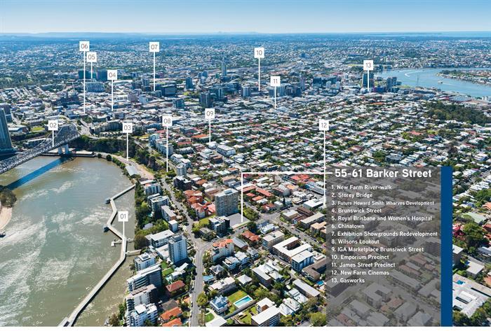 55-61 Barker Street NEW FARM QLD 4005