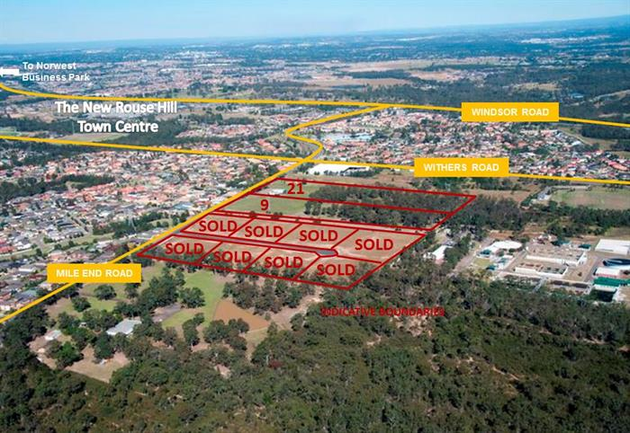 Mile End Road ROUSE HILL NSW 2155