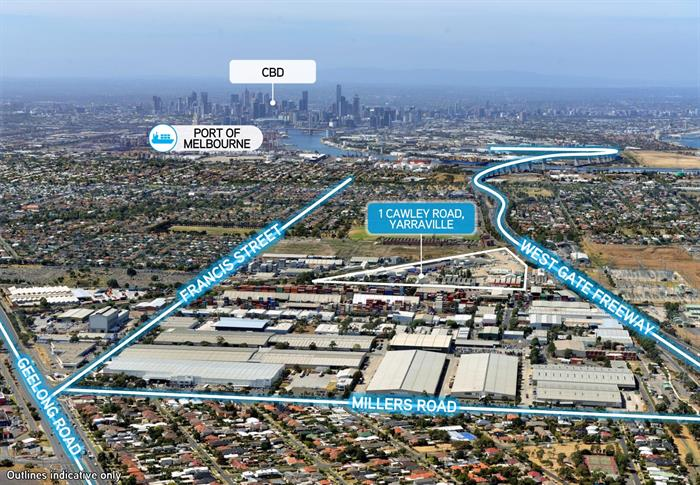 Building 1A, 1 Cawley Road YARRAVILLE VIC 3013
