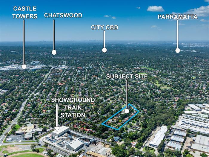 Partridge Avenue and Ashford Avenue CASTLE HILL NSW 2154