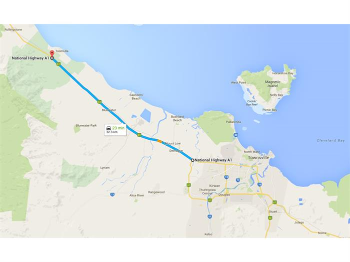 Bruce Highway TOWNSVILLE CITY QLD 4810