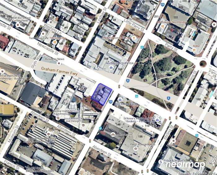 151 - 165 Beaufort Street NORTHBRIDGE WA 6003
