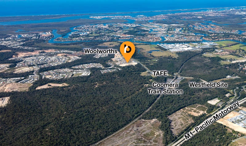 Lot 121 Crn Foxwell Rd And Finnegan Way COOMERA QLD 4209