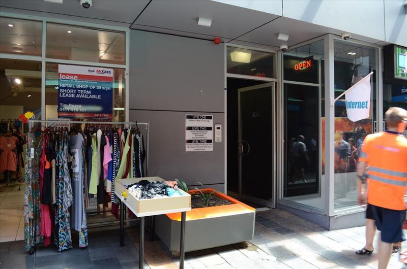 21 - 23 Rundle Mall ADELAIDE SA 5000