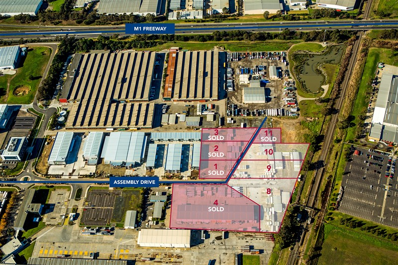 STAGE 2 LAND ASSEMBLY DRIVE DANDENONG VIC 3175