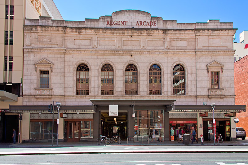 Regent Arcade Rundle Mall ADELAIDE SA 5000