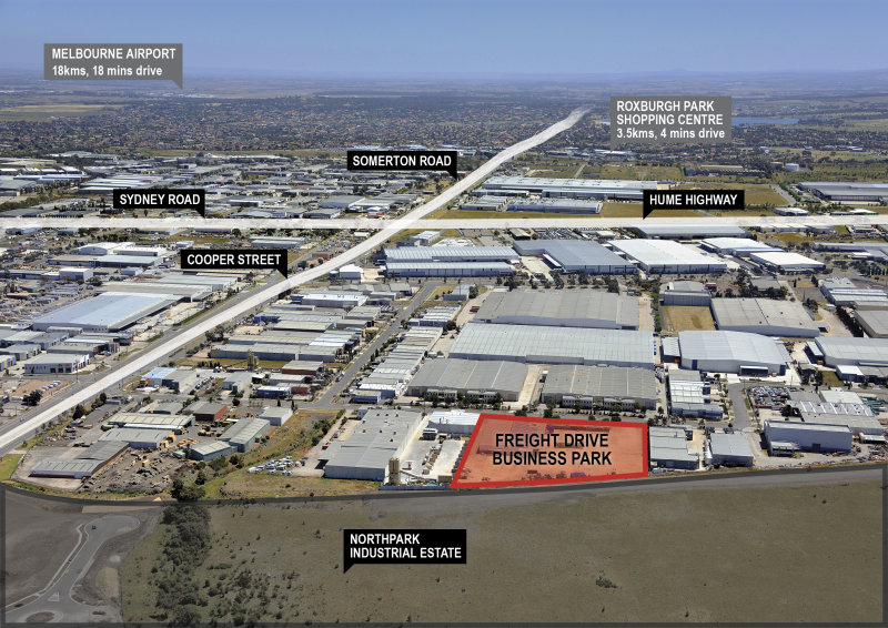 34 - 44  Freight Drive Business Park: Freight Drive SOMERTON VIC 3062
