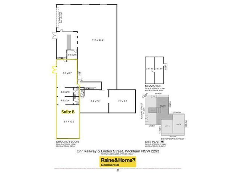 (Suite B)/21 Railway Street WICKHAM NSW 2293