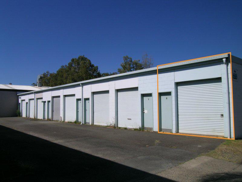 Bay 8/20 Lawson Crescent COFFS HARBOUR NSW 2450
