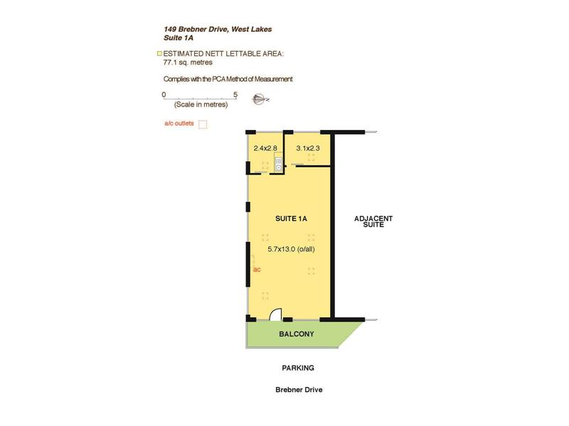 Suite 1A, 149 Brebner  Drive WEST LAKES SA 5021