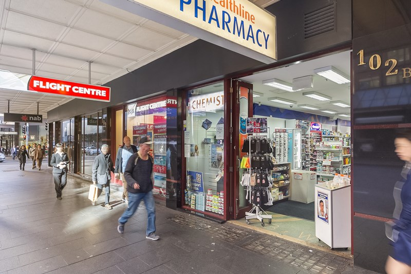 Shop/Retai/102B Bathurst Street SYDNEY NSW 2000