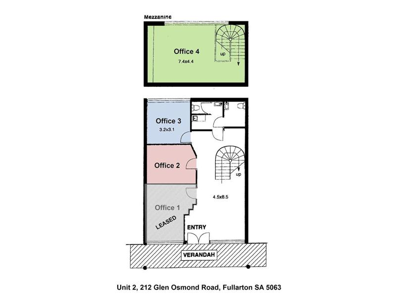 Offices 2, Unit 2, 212 Glen Osmond Road FULLARTON SA 5063