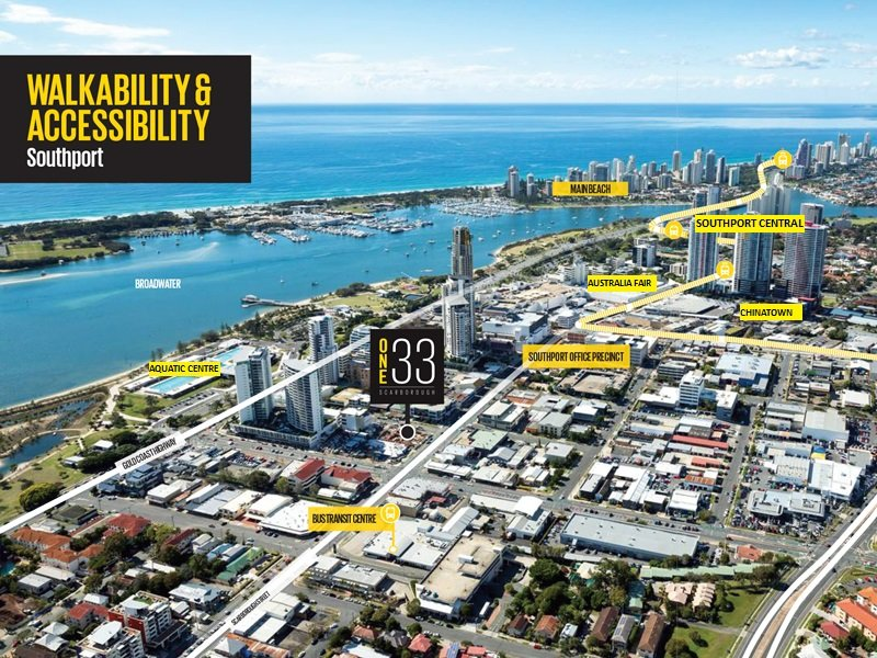 One 33/133 Scarborough Street SOUTHPORT QLD 4215