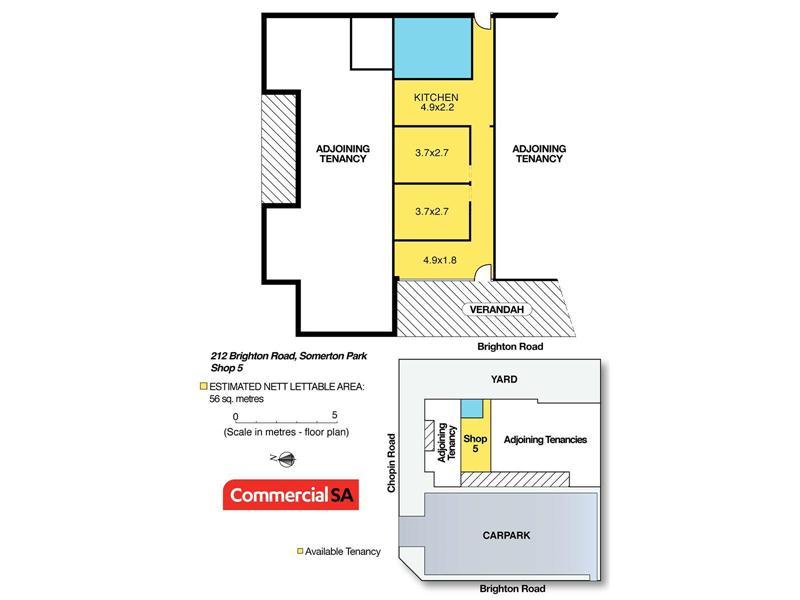 Shop 5, 212 Brighton Road SOMERTON PARK SA 5044
