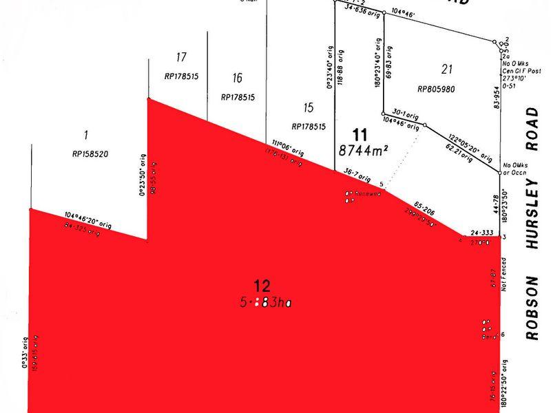 LOT 12 Robson-Hursley Road TORRINGTON QLD 4350