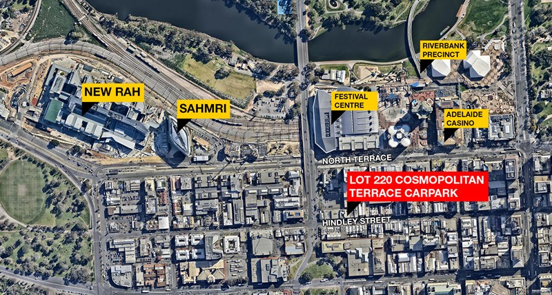 Lot 220, 122-130 Hindley Street ADELAIDE SA 5000