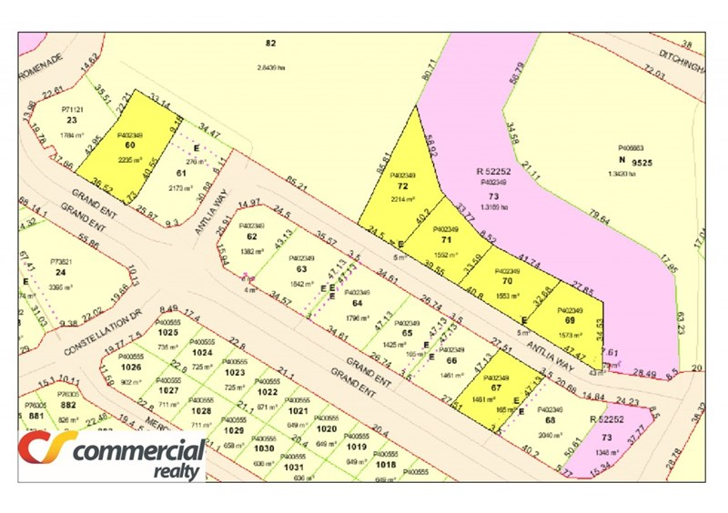 Lot 60... plus Various Lots Grand Entrance & Antlia Way AUSTRALIND WA 6233