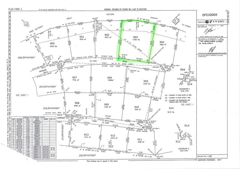 Lot 903 Michigan Road BATHURST NSW 2795