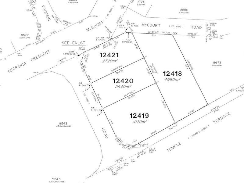 12419/SUBDIVISION 45 McCourt Road YARRAWONGA NT 0830