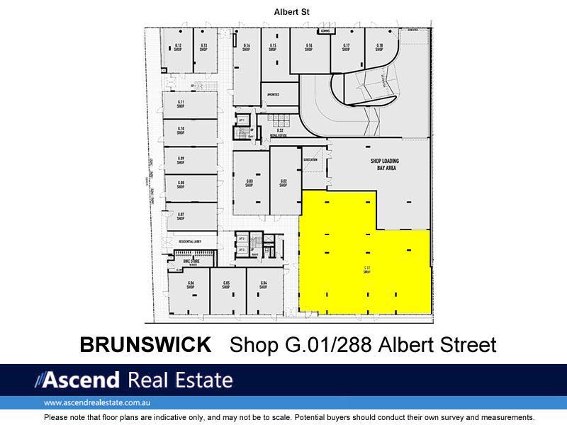 Shop G.01/288 Albert Street BRUNSWICK VIC 3056