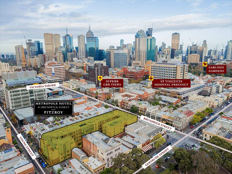 44 Brunswick Street Fitzroy Vic 3065 Land Development