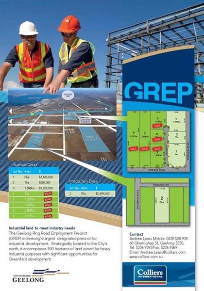 GREP Parcels 1 & 2 O'Briens Road CORIO VIC 3214