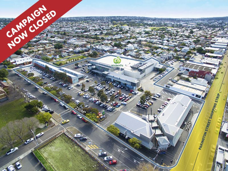 PAKINGTON STRAND SHOPPING CENT/Pakington Street 95 GEELONG WEST VIC 3218