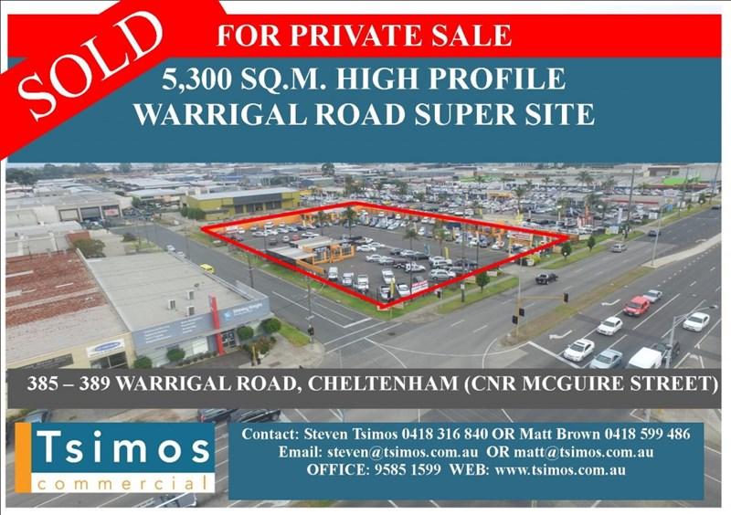 385-391 Warrigal Road CHELTENHAM VIC 3192