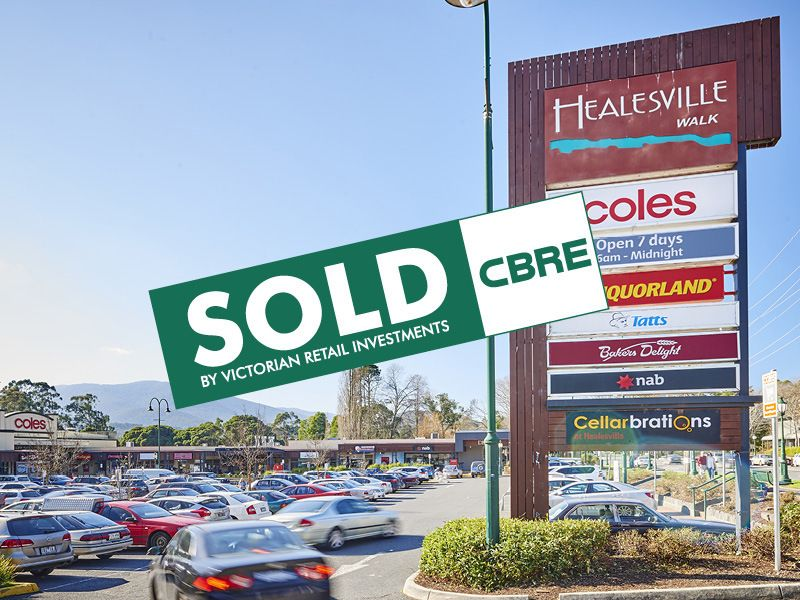 Healesville Walk Shopping Cent/251 Maroondah Highway HEALESVILLE VIC 3777