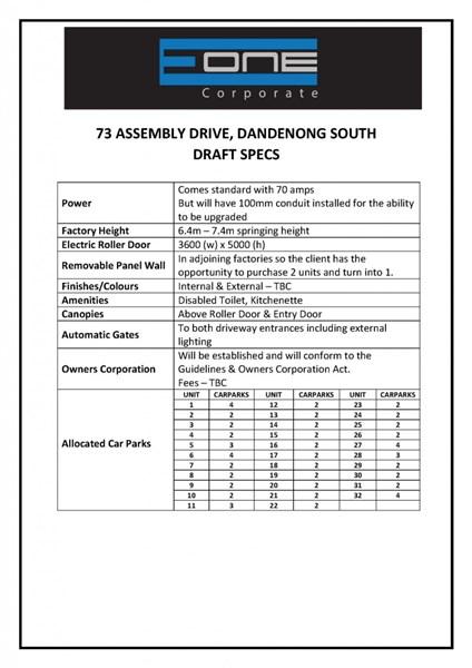 73 Assembly Drive DANDENONG VIC 3175