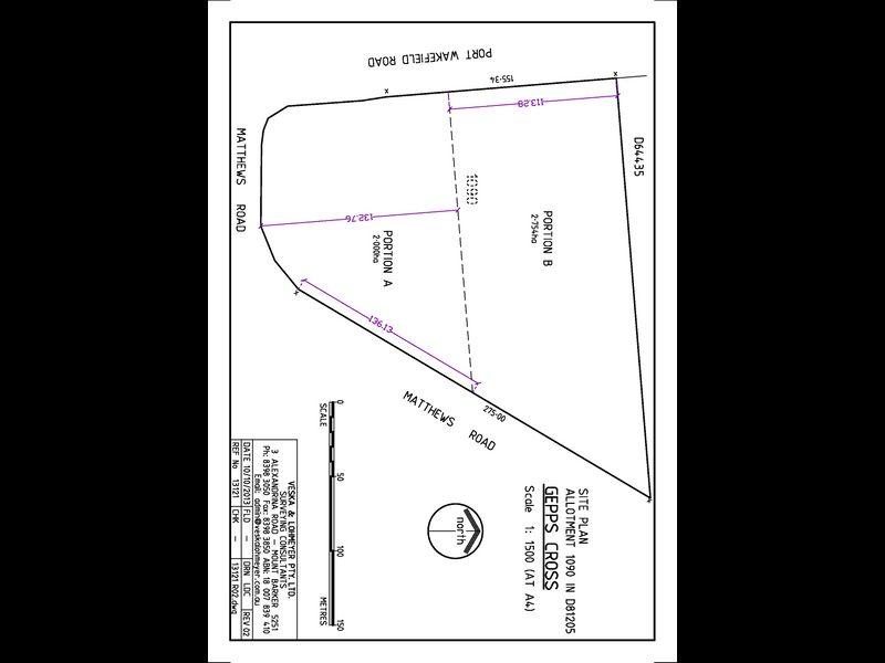 Portion B/ALLOTMENT 1090 Port Wakefield Road GEPPS CROSS SA 5094