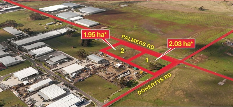 Lot 2/Lots 1 & 2 Cnr Palmers Road & Dohertys Road TRUGANINA VIC 3029