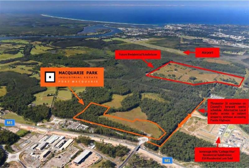 Lots 1-46 Macquarie Park Industrial Estate SANCROX NSW 2446