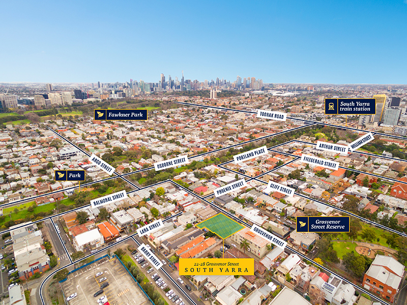 22-28 Grosvenor Street SOUTH YARRA VIC 3141